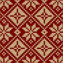 14589524-seamless-tricot-de-la-texture-tricot-Knit-Seamless-flocon-de-neige-Vecteur-de-fond-pour-le-design-te-Banque-d'images
